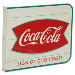 Coca-Cola 2 Sided Wall Sign