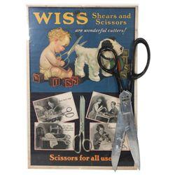 2 Pcs. Wiss Scissor Advertising