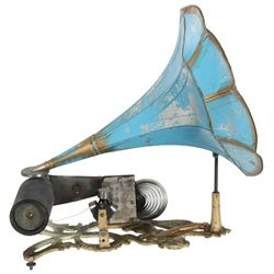 Siren Cast Iron Cylinder Phonograph