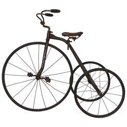 Antique Iron Tricycle
