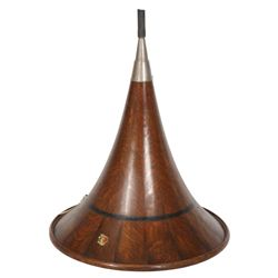 Oak Music Master Phonograph Horn
