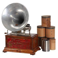 Pathe Grand Depot Concert Phonograph