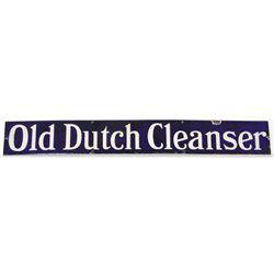 Old Dutch Cleanser Porcelain Sign