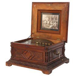 Polyphone Inlaid Music Box