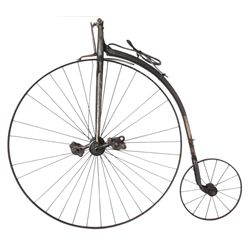 Antique Child's High Wheel Bicycle