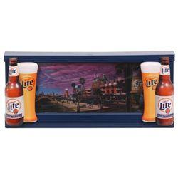 Miller Lite Coast to Coast Beer Sign