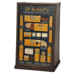 Dr. Scholl's Advertising Display Case