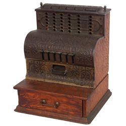 Oak And Cast Iron Change Register