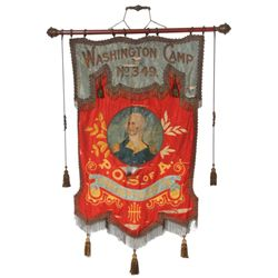 Washington Camp No. 349, Hanging Banner