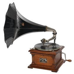 Oak Victor Type II Phonograph