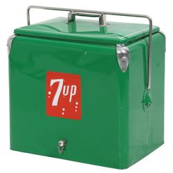 7up Progress Refrigerator Company Cooler