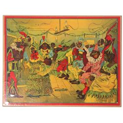 "20 Pc. Darktown ""Fancy Ball"" Puzzle"