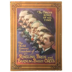Circus Kings Of All Time Pinup Poster