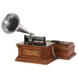 Oak Grahophone Type AO Phonograph
