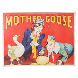 Mother Goose Pantomime Poster