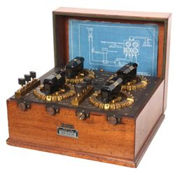 Otto Wolf Double Bridge Electrical Circuit Box