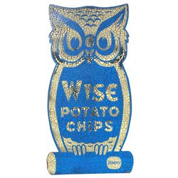 Large Wise Chips Owl Advertising Sign