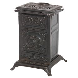 Cast Iron Gas Stove Advertising Bank