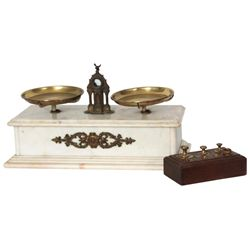 Henry Troemner Marble Pharmacy Scale