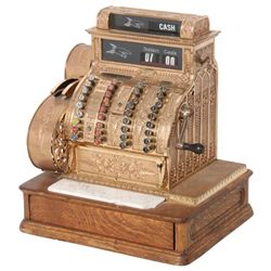 Vintage Model 442 National Cash Register