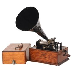 Edison Standard Suitcase Model Phonograph