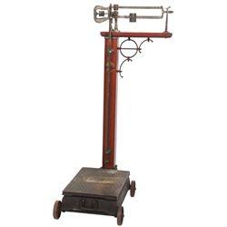 Fairbanks Standard Antique Doctors Scale