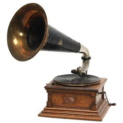 Oak Victor Type M Phonograph