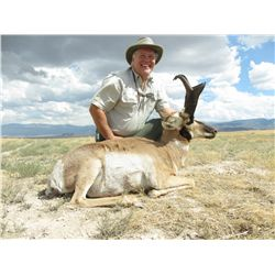 2-Day Pronghorn Hunt for One Hunter and One Non-Hunter in Utah - Includes Trophy Fee
