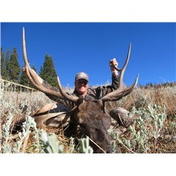 5-Day Elk Hunt for One Hunter in Western Wyoming - Includes Trophy Fee