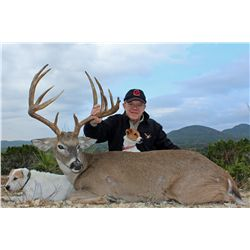 4-Day/3-Night Whitetail Deer Hunt for One Hunter and One Non-Hunter in Texas - Includes Trophy Fee