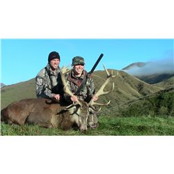 5-Day Stag and Fallow Buck Hunt for Two Hunters in New Zealand - Includes Trophy Fees