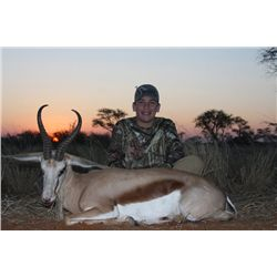 CREDIT Toward 10-Day Plains Game Hunt for One Hunter and One Non-Hunter in Namibia - Includes Trophy