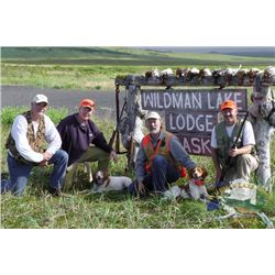 7-Day/6-Night Wingshooting and Sport Fishing Package for One at Wildman Lake Lodge