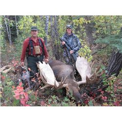 11-Day Trophy Moose Adventure for One Hunter in the Yukon - Includes Trophy Fee