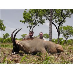 6-Day Western Roan Hunt for One Hunter in Cameroon