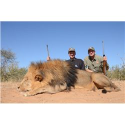 10-Day Lion and Plains Game Hunt for Two Hunters in South Africa - Includes Trophy Fee Credit