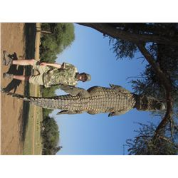 7-Day Crocodile Hunt for One Hunter and One Non-Hunter in South Africa - Includes Trophy Fee
