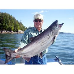 7-Day/6-Night Fishing Adventure for Two Anglers in British Columbia