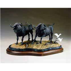 """Black Thunder"" - Bronze by Fred Boyer"