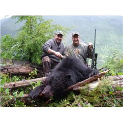 5-Day Coastal Black Bear Hunt for One hunter in Vancouver Island
