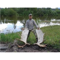9-Day Moose Hunt for One Hunter in British Columbia - Includes Trophy Fee