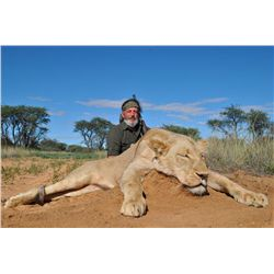 7-Day Lioness Hunt for Two Hunters in South Africa - Includes Trophy Fee