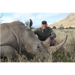 7-Day DARTED White Rhino Hunt for One Hunter and One Non-Hunter in South Africa