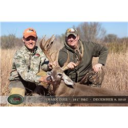 3-Day Whitetail Deer Hunt for three YOUTH and Three Adult Observers in Texas - Includes Trophy Fees