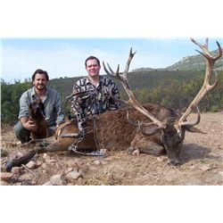 4-Day Red Stag OR Roe Deer Hunt for Two Hunters in Spain - Includes Trophy Fees
