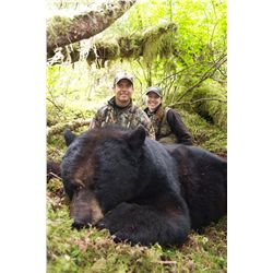 5-Day Luxury Yacht Black Bear Hunt for One Hunter in Alaska - Includes Optics Package