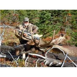10-Day Moose/Goat Combo Hunt for One Hunter in British Columbia - Includes Fee for First Trophy Harv