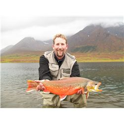 8-Day Alaskan Float Fishing Trip for THREE ANGLERS