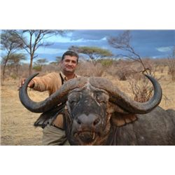 10-Day Buffalo Hunt for One Hunter and One Non-Hunter in Tanzania