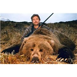 10-day Brown Bear Hunt for One Hunter in Cordova, Alaska